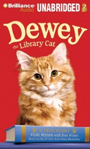 Dewey the library cat cover