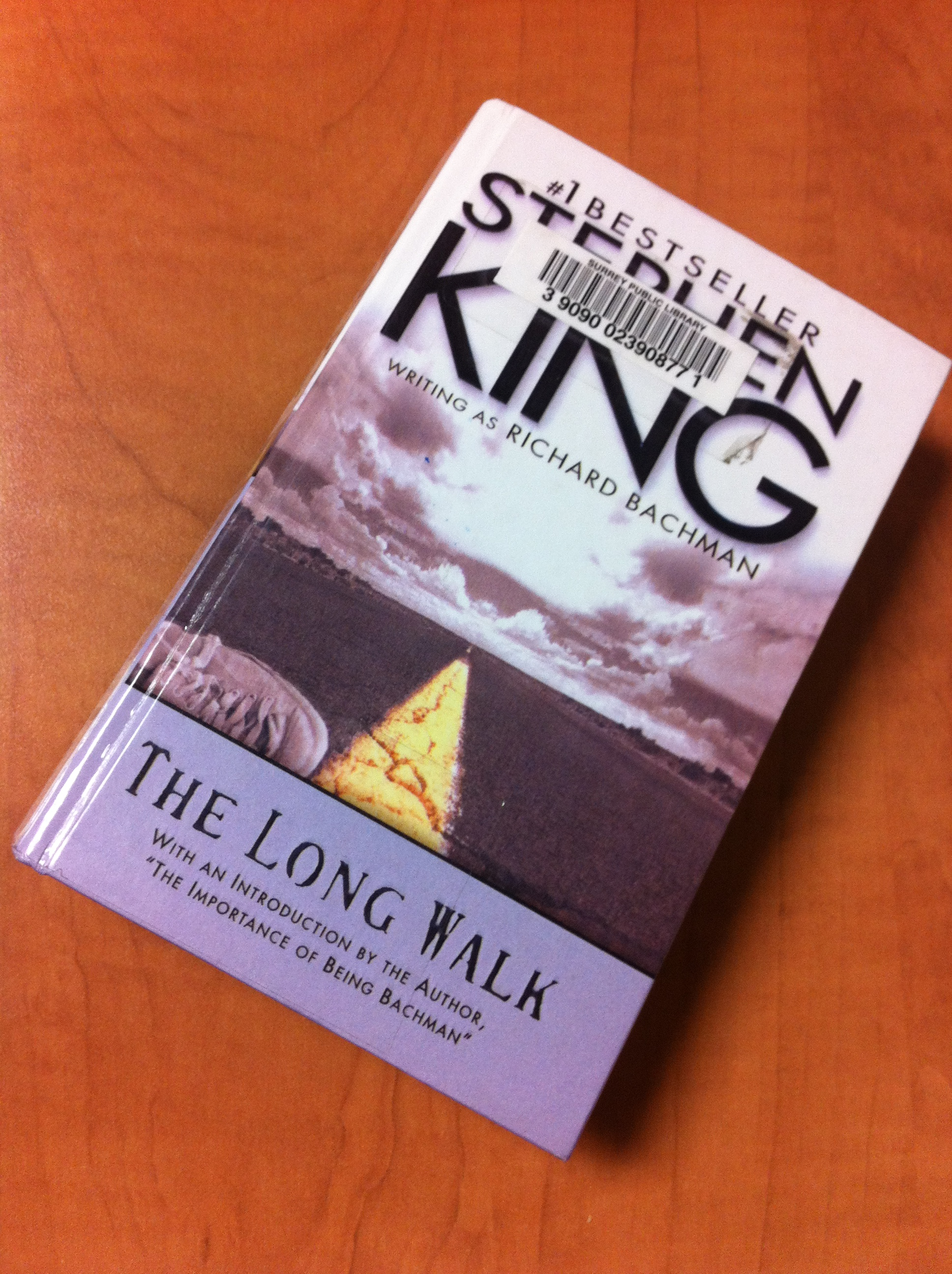 Alli's Cbr4 Review #5: The Long Walk By Stephen King As Richard Bachman