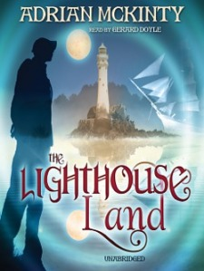 The Lighthouse Land by Adrian McKinty bookcover