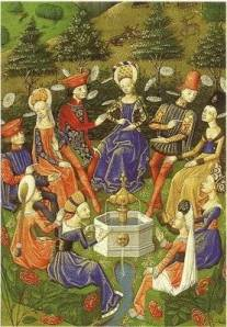 a review of boccaccios the decameron 1 review in boccaccio's innovative text ten young people leave florence to escape the black death of 1348, and organize their collective life in the countryside .
