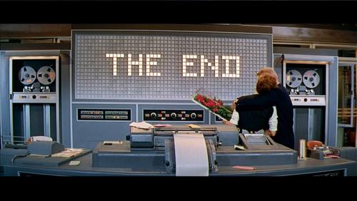 Ending of Desk Set, 1957.